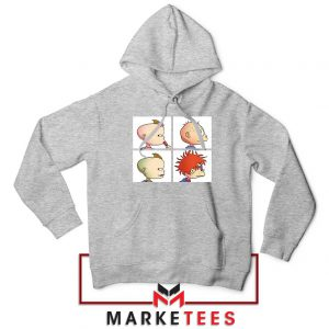 Baby Days Rugrats Sport Grey Hoodie