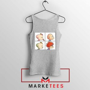 Baby Days Rugrats Sport Grey Tank Top