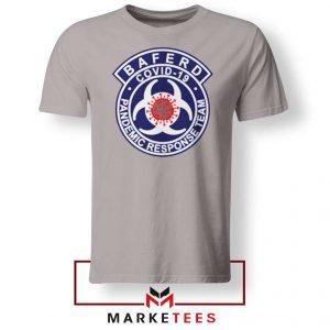 Baferd Covid 19 Logo Sport Grey Tshirt