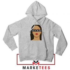 Best Savage Rihanna Sport Grey Hoodie