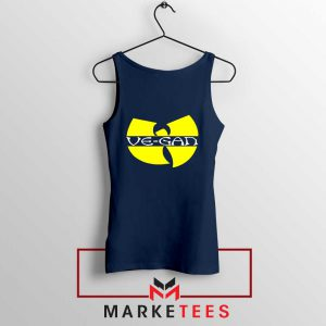Best Vegan Wu Tang Clan Navy Blue Tank Top