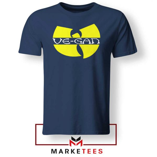 Best Vegan Wu Tang Clan Navy Tshirt