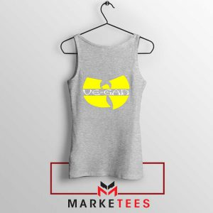 Best Vegan Wu Tang Clan Sport Grey Tank Top