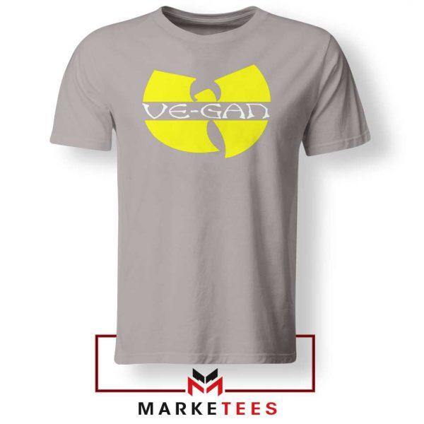 Best Vegan Wu Tang Clan Sport Grey Tshirt