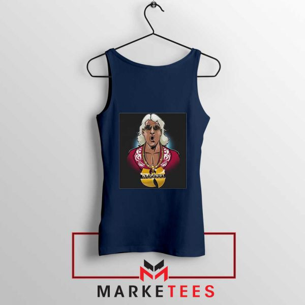 Best Wuuuu Tang Rapper Navy Blue Tank Top