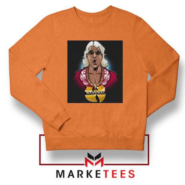 Best Wuuuu Tang Rapper Orange Sweatshirt