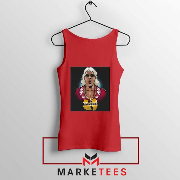 Best Wuuuu Tang Rapper Red Tank Top
