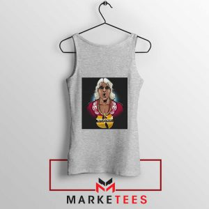 Best Wuuuu Tang Rapper Sport Grey Tank Top