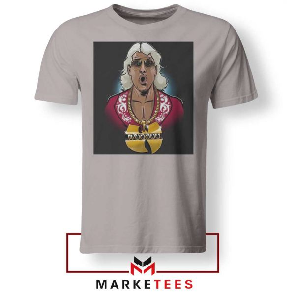 Best Wuuuu Tang Rapper Sport Grey Tshirt