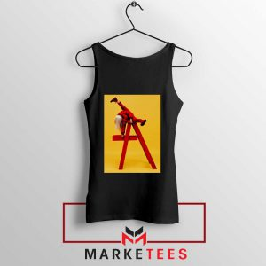 Billie Eilish Graphic Music Black Tank Top