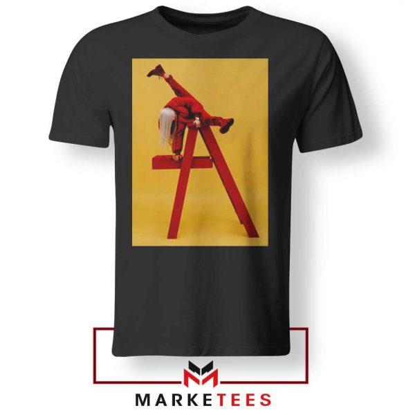 Billie Eilish Graphic Music Black Tee Shirt