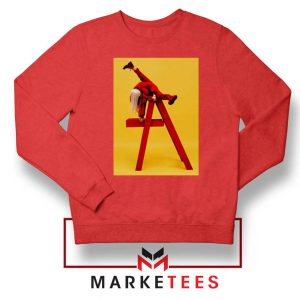 Billie Eilish Graphic Music Red Sweater