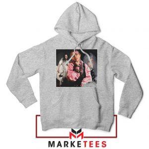 Billie Eilish Music Concert Sport Grey Hoodie