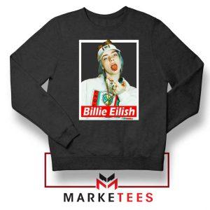Billie Eilish Pop Singer Sweatshirt
