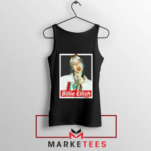 Billie Eilish Pop Singer Tank Top