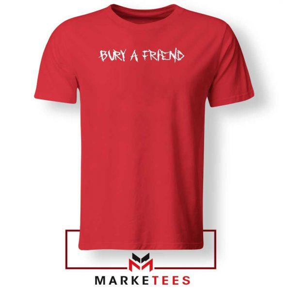 Bury a Friend Billie Eilish Red Tee Shirt