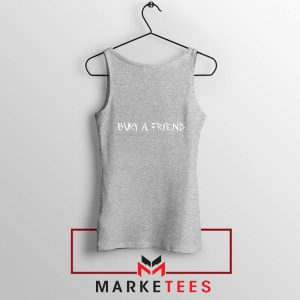 Bury a Friend Billie Eilish Sport Grey Tank Top