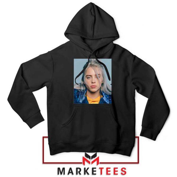 Buy Billie Eilish Music Star Black Hoodie
