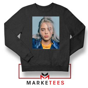 Buy Billie Eilish Music Star Black Sweatshirt