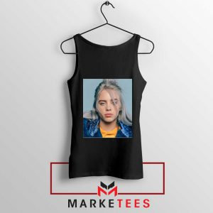 Buy Billie Eilish Music Star Black Tank Top