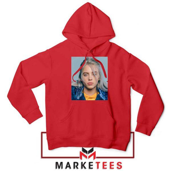 Buy Billie Eilish Music Star Red Hoodie