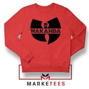 Buy Cheap Wakanda Logo Red Sweatshirt