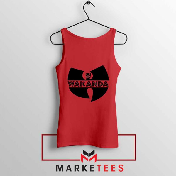Buy Cheap Wakanda Logo Red Tank Top