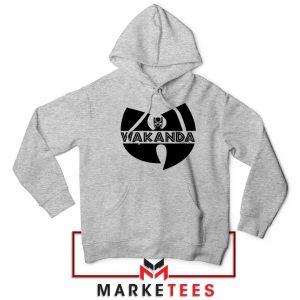 Buy Cheap Wakanda Logo Sport Grey Hoodie
