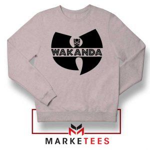 Buy Cheap Wakanda Logo Sport Grey Sweatshirt