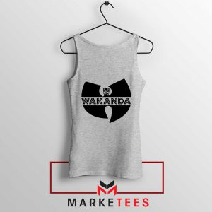 Buy Cheap Wakanda Logo Sport Grey Tank Top