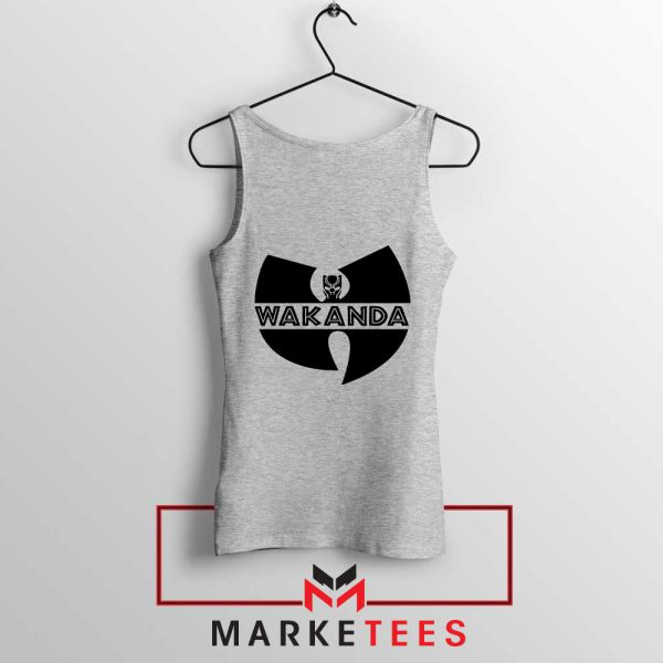 Buy Cheap Wakanda Logo Sport Grey Tank Top