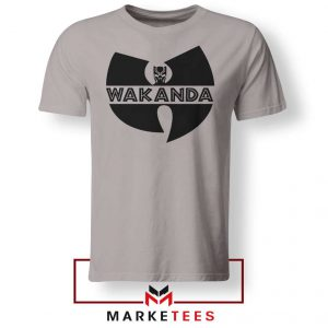 Buy Cheap Wakanda Logo Sport Grey Tee Shirt