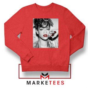 Buy Rihanna Music Singer Red Sweater