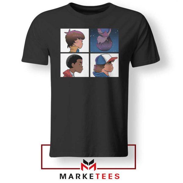 Buy Stranger Things Characters Tee Shirt