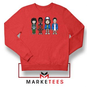Characters Stranger Things Red Sweater