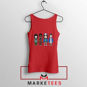 Characters Stranger Things Red Tank Top