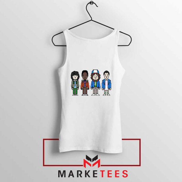 Characters Stranger Things Tank Top