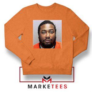 Cheap Dirty Bastard ODB Orange Sweatshirt