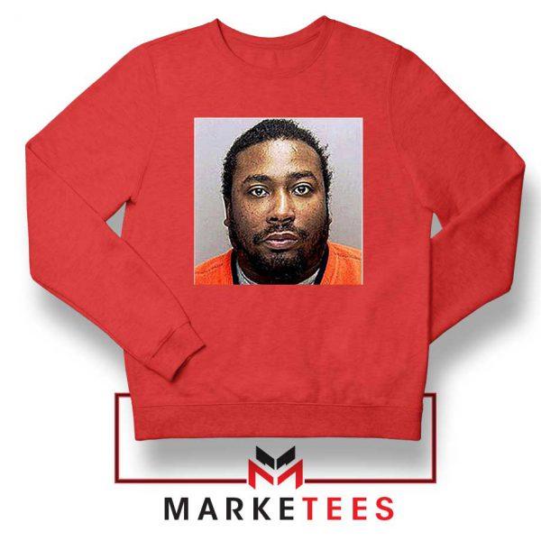 Cheap Dirty Bastard ODB Red Sweatshirt