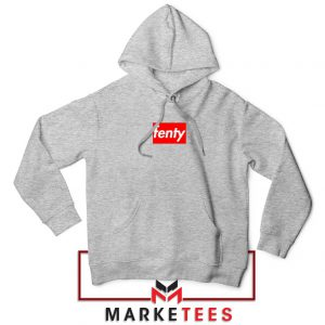Cheap Fenty Rihanna Sport Grey Hoodie