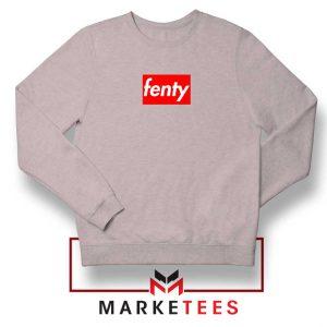 Cheap Fenty Rihanna Sport Grey Sweatshirt