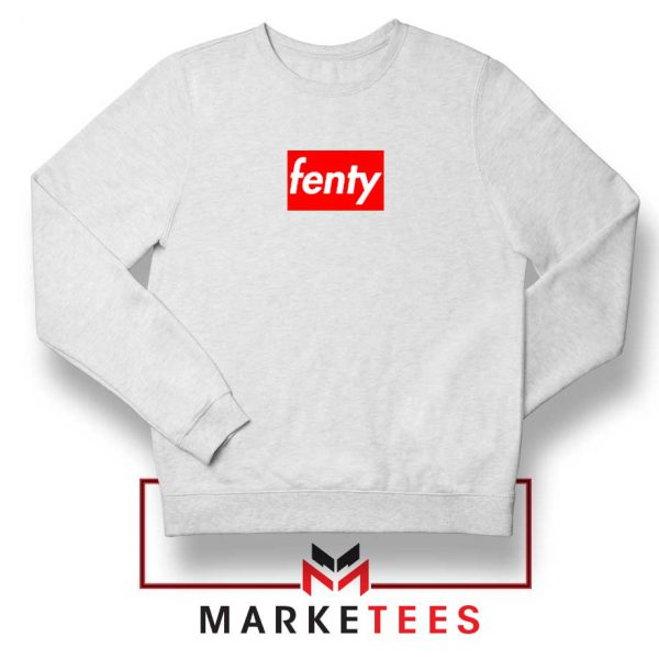 Cheap Fenty Rihanna White Sweatshirt