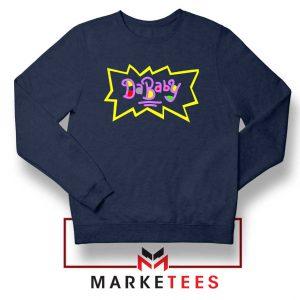 Cheap Rugrats Dababy Navy Blue Sweatshirt