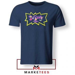 Cheap Rugrats Dababy Navy Blue Tshirt