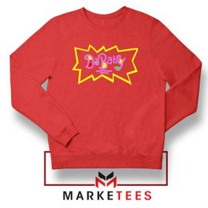 Cheap Rugrats Dababy Red Sweatshirt