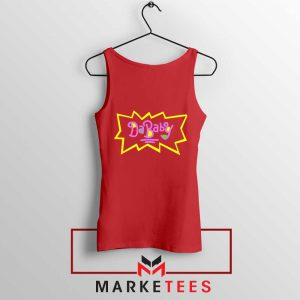 Cheap Rugrats Dababy Red Tank Top