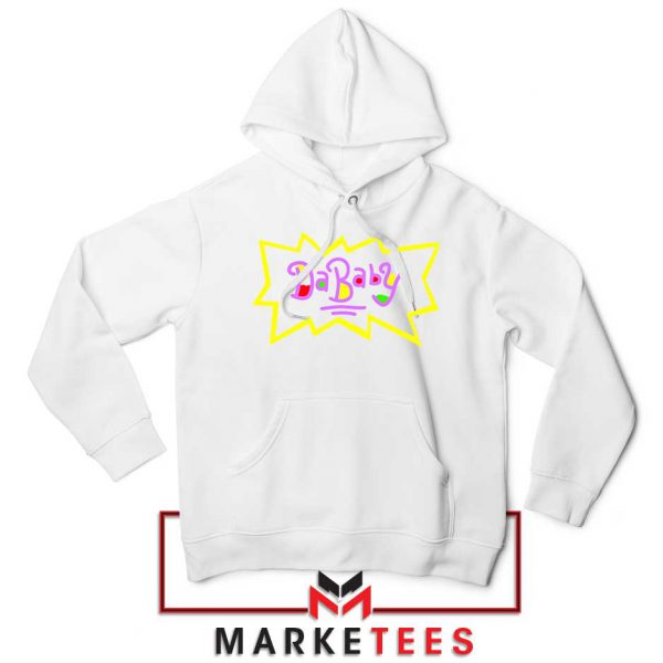 Cheap Rugrats Dababy White Hoodie