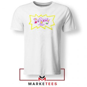 Cheap Rugrats Dababy White Tshirt
