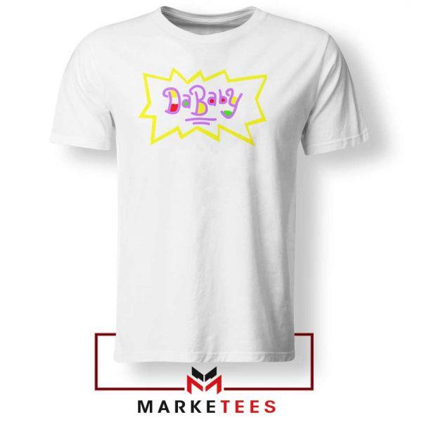 Cheap Rugrats Dababy White Tshirt
