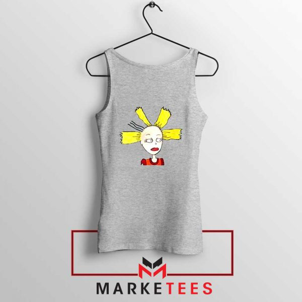 Cynthia Doll Sport Grey Tank Top